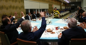 Bayburt Grup Özel İdare yemekte buluştu