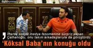 Çalhanoğlu iftarda #039;Köksal...