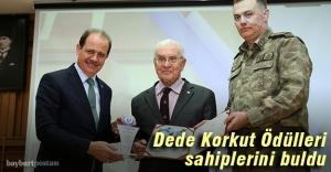 Dede Korkut Bilim, Kültür, Sanat ve Edebiyat Ödülleri verildi