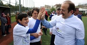 Engelliler Spor Oyunları ödül töreni