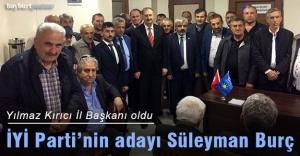 İYİ Parti'nin adayı Süleyman Burç