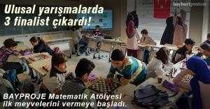 Matematik Atölyesi 3 finalist çıkardı