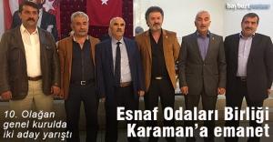 Selahattin Karaman yeniden başkan