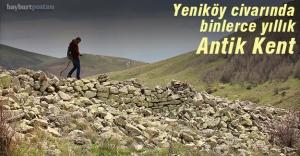Yeniköy civarında arkeolojik alan tespit edildi