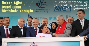 """Bakan Ağbal: """"Gümüşhane'yi, Bayburt'u değiştirecek, Türkiye'yi büyütecek"""