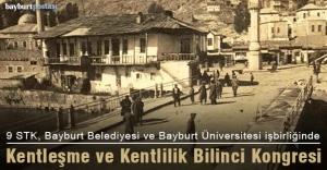 Bayburt'ta Kentleşme ve Kentlilik Bilinci Kongresi