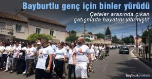 Fransa'da binlerce insan Bayburtlu Engin için yürüdü
