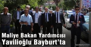 Maliye Bakan Yardımcısı Yavilioğlu Bayburt'ta