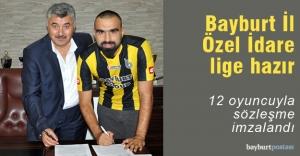 12 oyuncuyla sözleşme imzalandı