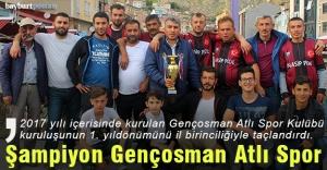 Bayburt Cirit İl Birincisi: Gençosman Atlı Spor Kulübü
