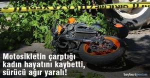 Bayburt#039;ta trafik kazası: 1 ölü,...