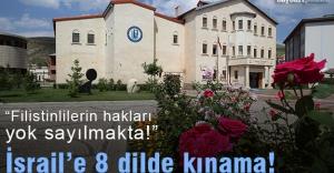Bayburt Üniversitesi Senatosu'ndan İsrail'e kınama