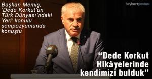 'Dede Korkut'un Türk Dünyası'ndaki Yeri' konulu sempozyum