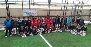 Köy Okulları Futbol Turnuvasının Şampiyonu: 'Akşar İlköğretim'