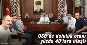 OSB'ye yatırımcı ilgisi devam ediyor