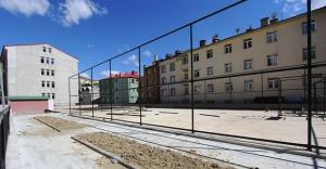 Park ve Spor Tesislerinin yapımı başladı