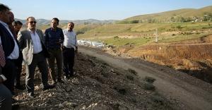 Çamur Barajı'ndan ineceleme