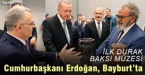 Cumhurbaşkanı Erdoğan'ın ilk durağı Baksı Müzesi