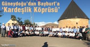 Güneydoğu'dan Bayburt'a 'Kardeşlik Köprüsü'