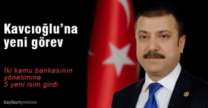 Kavcıoğlu'na yeni görev