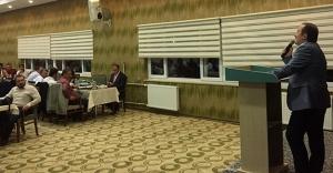 Vali Pehlivan, Bayburt Vakfı'nın yemeğine katıldı