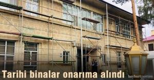 Askeri Gazino ve Bayburt Lisesi onarıma...