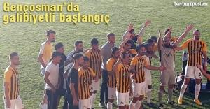 Bayburt İl Özel İdare Gençlikspor galibiyetle başladı