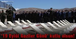"""Bayburt'ta """"19 Eylül Gaziler Günü"""" kutlaması"""