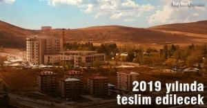 Yeni hastane 2019 yılında teslim...
