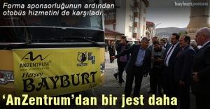 'AnZentrum'dan Bayburt İl Özel İdarespor kulübüne otobüs