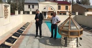 Aydıntepe Kaymakamı Akın'ın köy ziyaretleri
