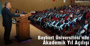 Bayburt Üniversitesi akademik yılı açılışı