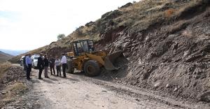 Bayburt Valisi Pehlivan, çalışma sahalarını inceledi