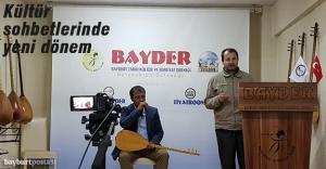 BAYDER Kültür Sobetleri kaldığı yerden...