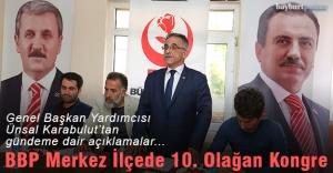 BBP Merkez İlçe Başkanı Turgut Çalışkan