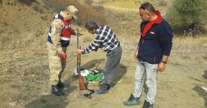 Jandarma av sahalarını denetledi