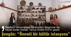 Kenan Yavuz Kültür Evi, üniversitelileri ağırladı