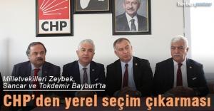 Milletvekilleri Zeybek, Sancar ve Tokdemir Bayburt'ta