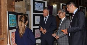 SODES'le Sanat Rüzgarı sergisi açıldı