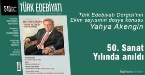 Türk Edebiyat Dergisi, Yahya Akengin'i unutmadı