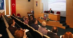 Üniversitede İş Güvenliği Eğitim semineri verildi