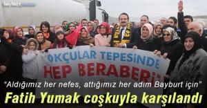 AK Parti adayı Fatih Yumak#039;a...