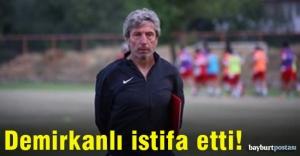 Bülent Demirkanlı#039;dan istifa...