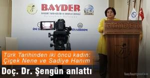 Türk Tarihinden İki Öncü Kadın: Çiçek Nene ve Sadiye Hanım