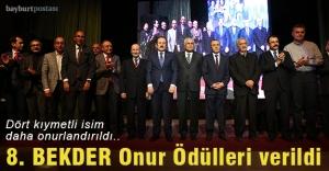 8. BEKDER Onur Ödülleri sahiplerini...