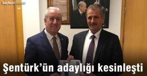 Başkan Şentürk, MHP'den resmen açıklandı