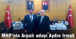 MHP Arpalı Belediye Başkan Adayı Aydın Irmak