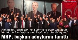 MHP, belediye başkan adaylarını...