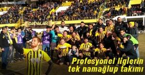 Profesyonel liglerin tek namağlup takımı