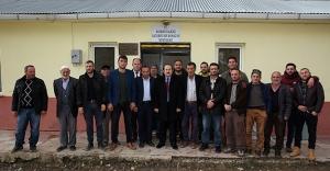 Vali Pehlivan'dan Yazyurdu Köyü'ne ziyaret